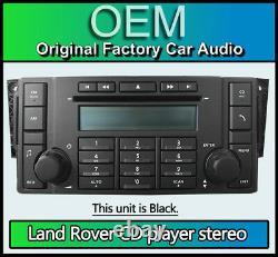 Land Rover Discovery 3 Radio Lecteur CD Stéréo, 7G9N18C815TA 6 Disque Changeur