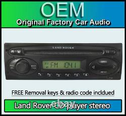 Land Rover Discovery Lecteur CD, Visteon 6500 Stéréo + Code Radio, Amovible Clé