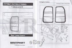 Land Rover LR3 / Discovery 3 Arrière Lumière Gardes Paire Neuf UK Pièce