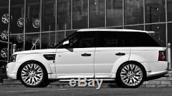 Land Rover Range Rover Sport Vogue Discovery Jante en Alliage 22 Argent 9.5j