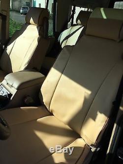 Liners Sièges Voiture sur Mesure Fabien Land Rover Discovery 2 1998/2004