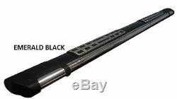 Marche-pieds LandRover Discover 4 09-14 (D+G) Emerald Black 193cm