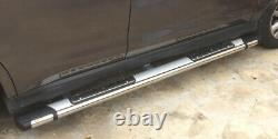 Marche-pieds Land Rover Discovery 3 04-09, Emerald Silver 193cm