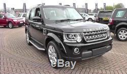 Marche-pieds Land Rover Discovery 3 4 Marchepieds latéraux Jupes latérales