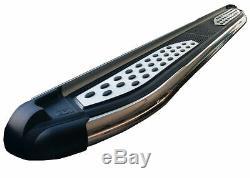 Marche-pieds latéraux LandRover Discovery 3 2004-2009, série Plus 193cm