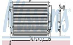 NISSENS Condenseur de climatisation 94839 Pièces Auto Mister Auto