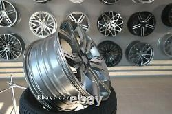 Neuf 22 inch 5x120 Argent Roues Pour Land Rover Discovery Defender Range Sport