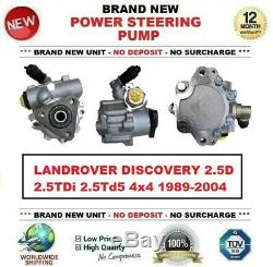 Neuf Pompe Direction Assistée pour Land Rover Discovery 2.5D 2.5TDi 2.5Td5 4x4