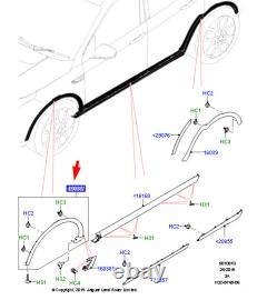 OEM Land Rover Discovery Sport L550 avant Droit Arc Moulure LR123726 Véritable