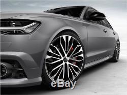 Original Audi A6 4g Jante 20 Zoll / 8,5Jx20 et 45 4G0601025CR Polie / Noir