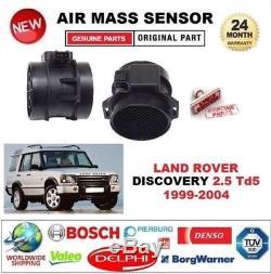 POUR LAND ROVER DISCOVERY 2.5 Td5 99-04 CAPTEUR DÉBIT AIR MASSIQUE 3 BROCHES