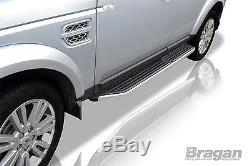 Pour 05 + Land Rover Discovery 3/4 Marchepieds Barres Latérales Jupes