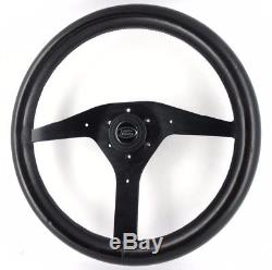 RAID 365mm cuir DIRECTION ROUE LAND ROVER DEFENDER 90 110 Discovery etc 8A