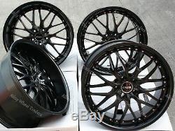 Roues Alliage X 4 20 M Noir 190 Wr pour Land Range Rover Sport Discovery 5X120