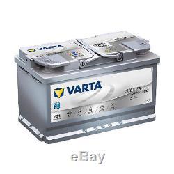 Varta Argent Dynamique F21 AGM 80Ah Start Stop Batterie de Voiture 580901080