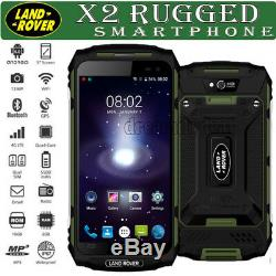 Waterproof 4G Rugged Smartphone LAND X2 ROVER Android 6 Quad Core Cell phone